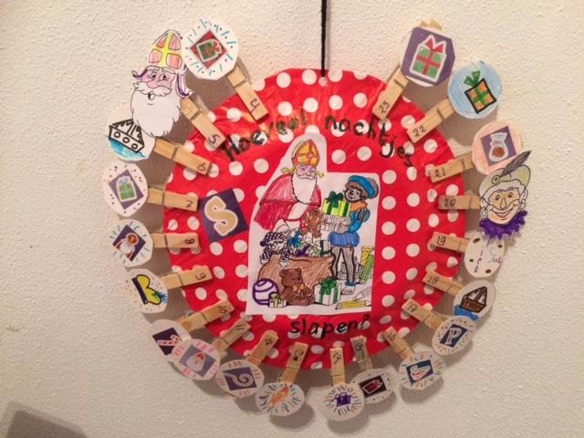 Maak een Sinterklaas aftelkalender met je kind(eren).