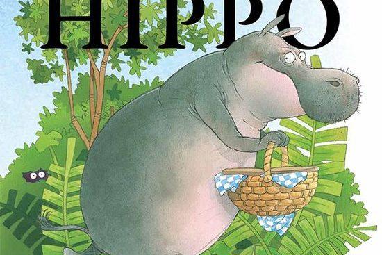 gulzige gierige hippo