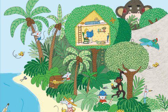 Op vakantie met de familie muis