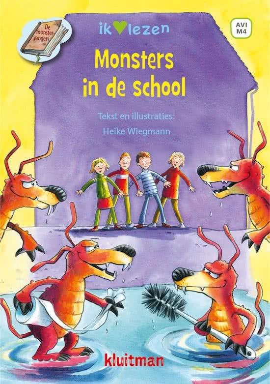 Recensie Monsters in de school, Heike Wiechmann