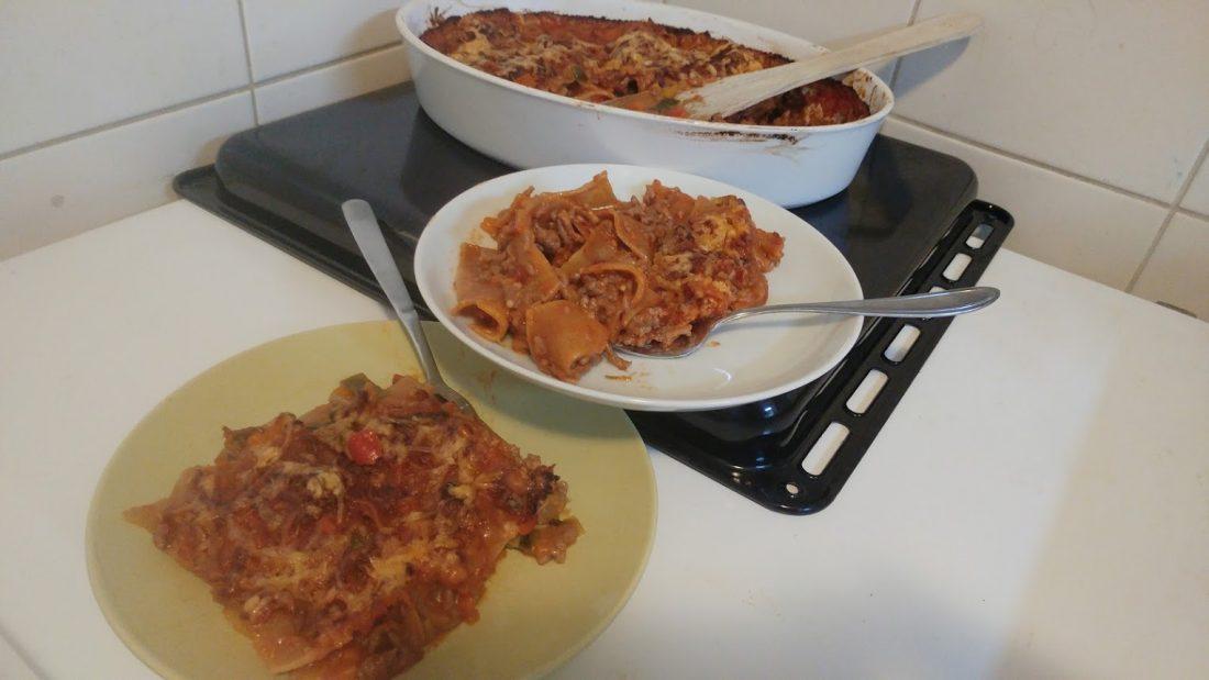 volkoren lasagna