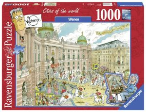 cities of the world puzzel wenen