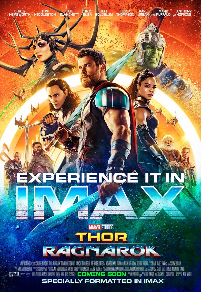 Thor Ragnarok: 'must see' in allernieuwste IMAX Pathé zaal!