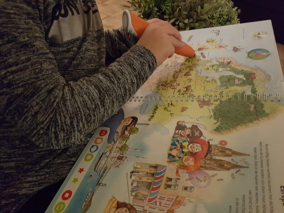 Recensie Tiptoi Starterset Boek Wereldatlas (5-8 jaar)