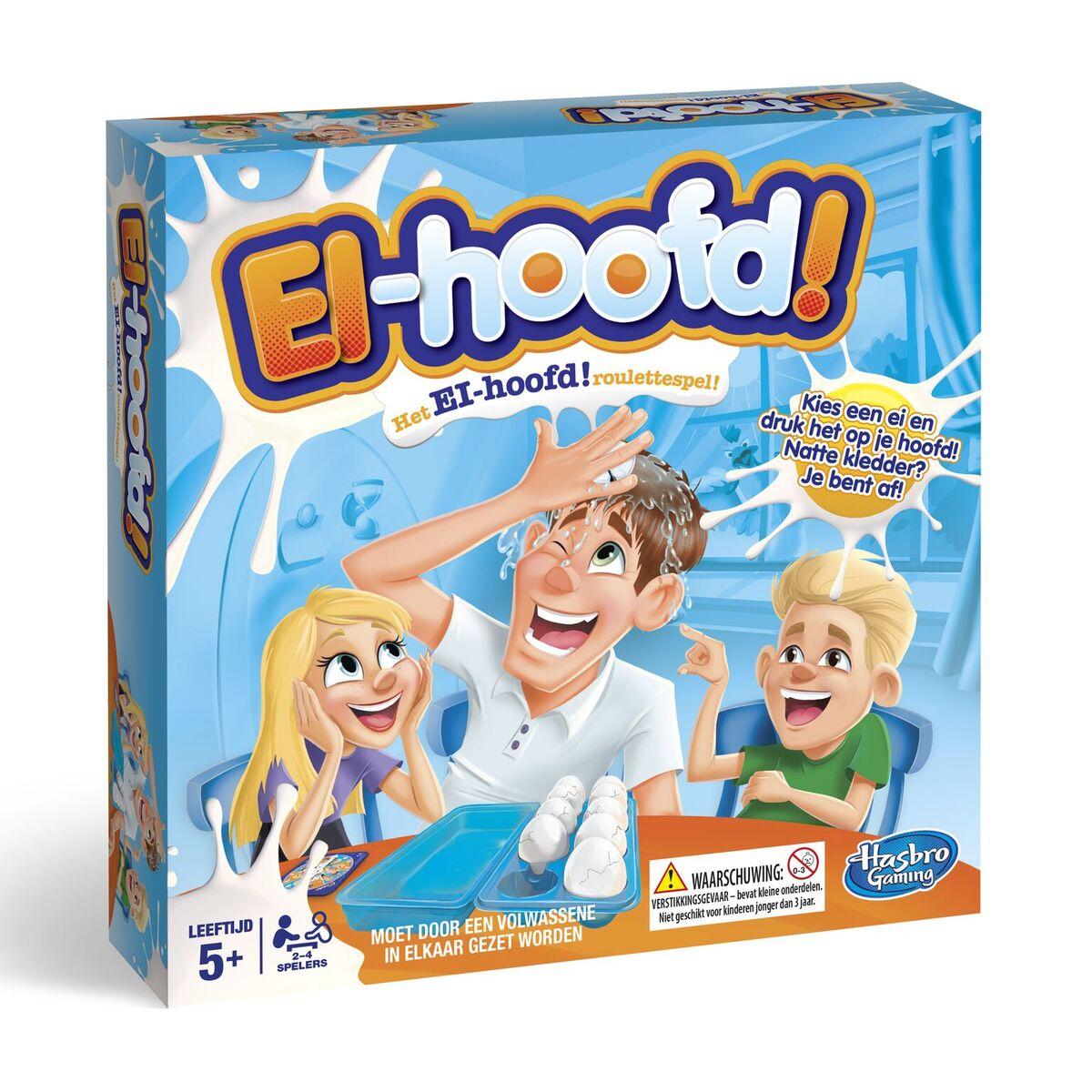 Hilarisch spel Ei Hoofd, Hasbro. Durf jij het aan? 5+