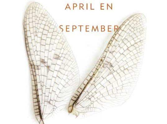 Tussen april en september