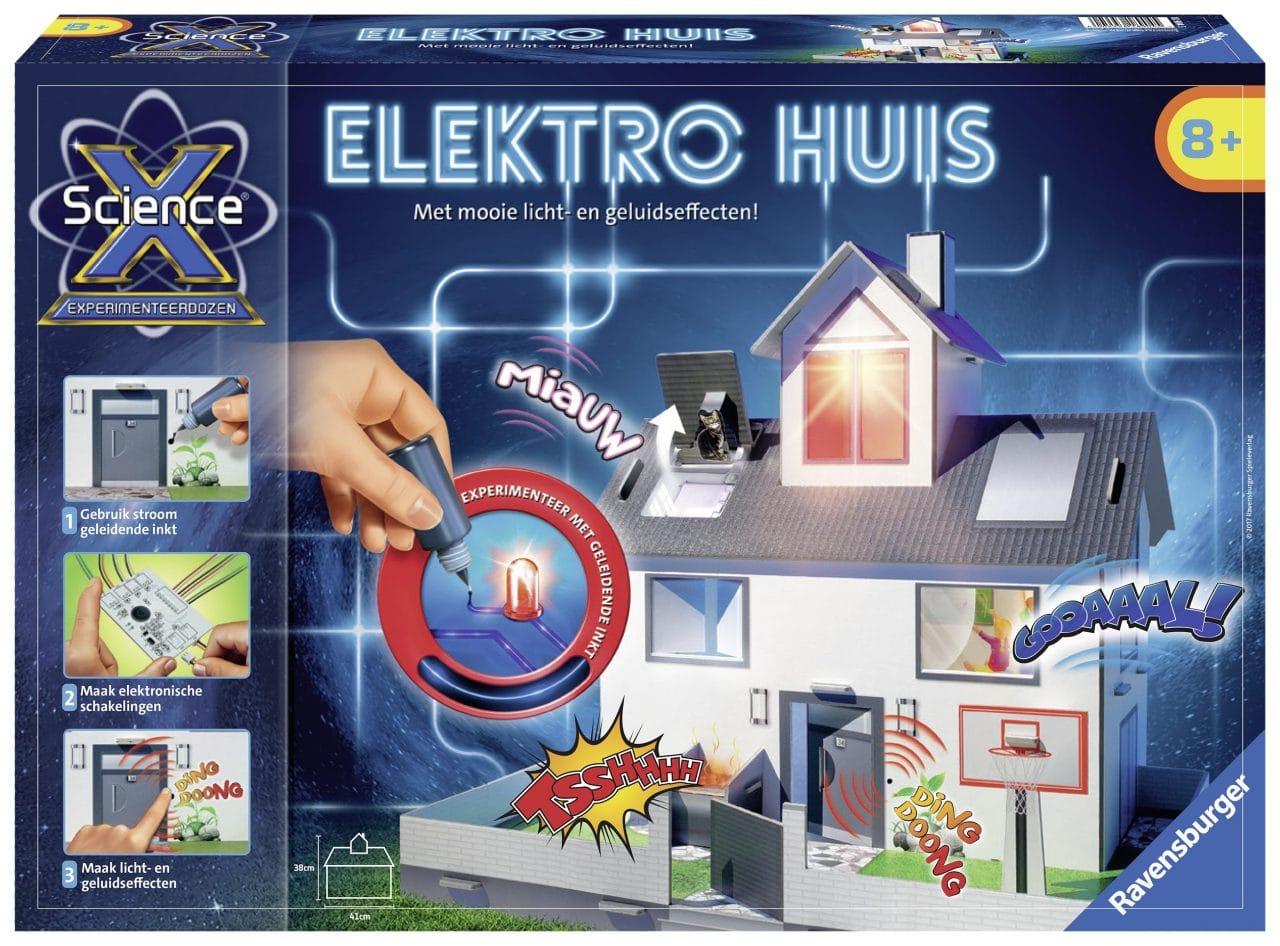 Recensie ScienceX Elektro huis, Ravensburger
