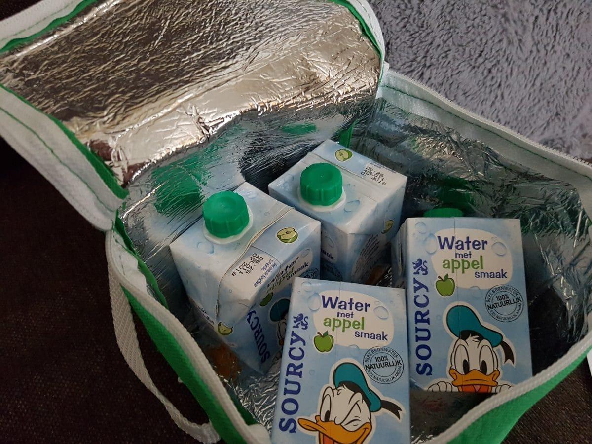 Gespot: Sourcy Water met appelsmaak; gezond & lekker!