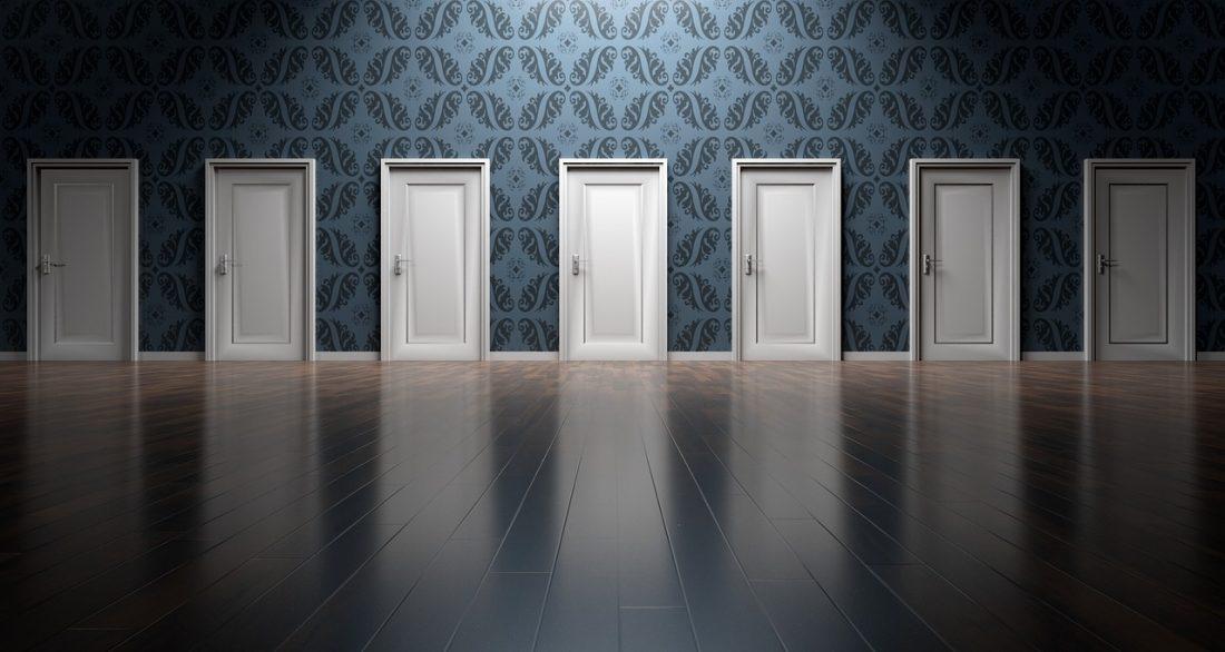 nieuwe deuren openen; willen en durven