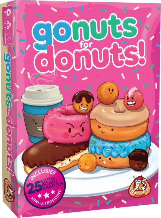 2x Winactie/Recensie spel, Go Nuts for Donuts, White Goblin Games