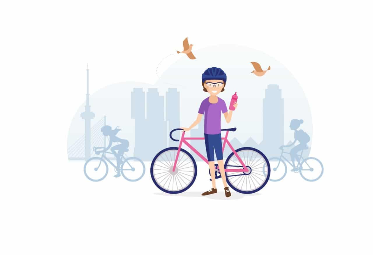 Ladies Ride Rotterdam 2018: een sportieve vriendinnendag