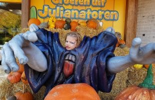 Halloween in De Julianatoren is griezelen op kinderniveau!