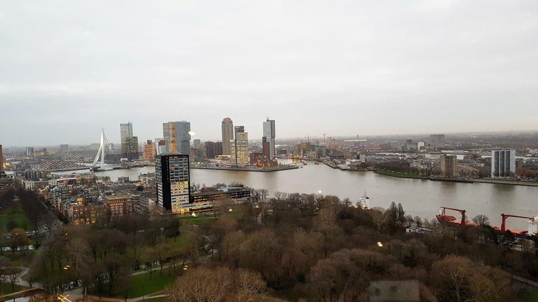 Uitzicht vanaf Erasmustoren