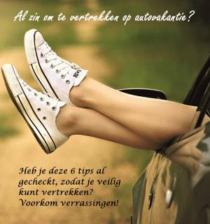 Heb-jij-deze-6-tips-al-gecheckt-om-veilig-op-autovakantie-te-kunnen-vertrekken; Afbeelding met voeten uit een raam van rijdende auto.
