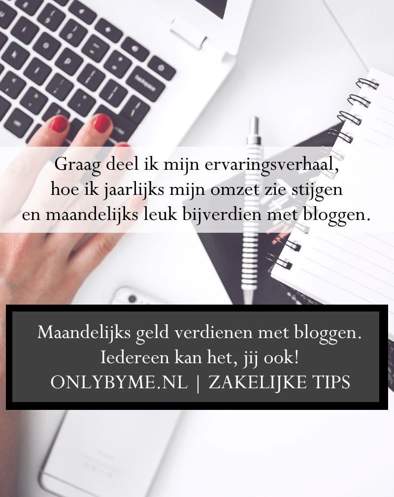 Maandelijks geld verdienen met bloggen. Iedereen kan het, jij ook! Een ervaringsblog vol met tips om dit zelf te bereiken.#geldverdienen #makingmoney #verdienenmetbloggen #bloggen #blogtips #verdienen #blogging #zakelijketips #businesstips